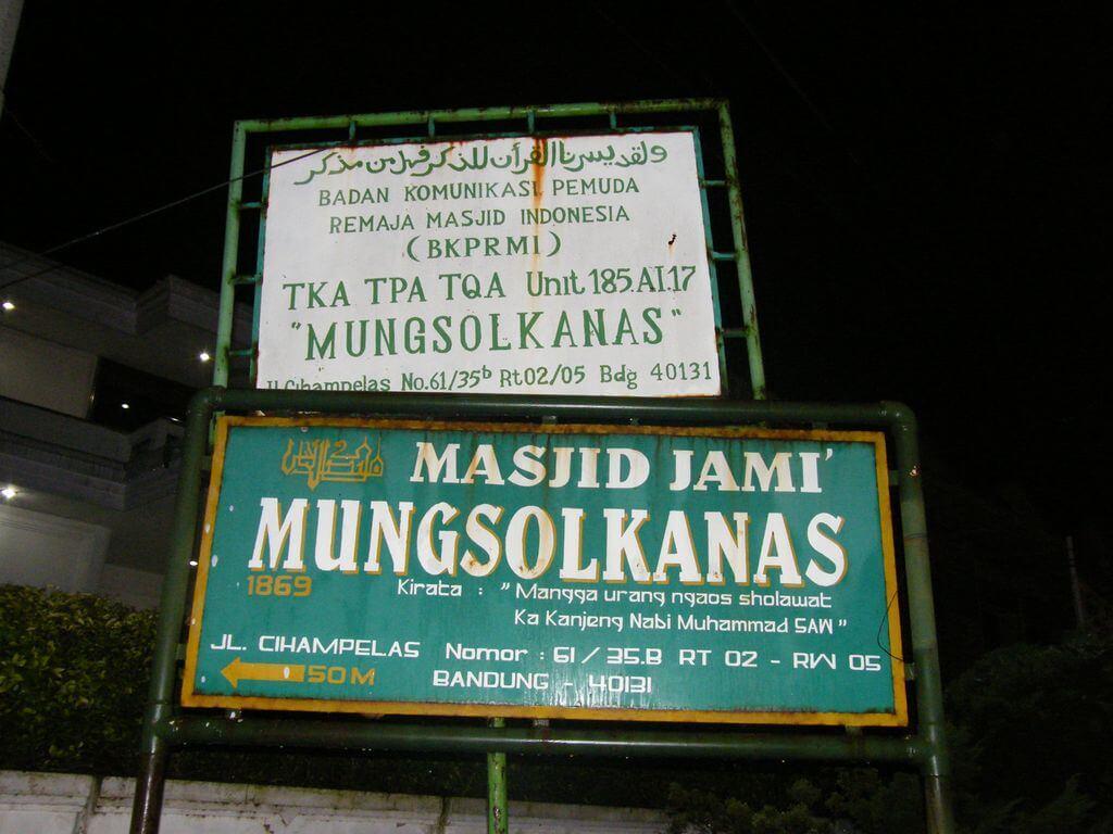 Masjid Jami Mungsolkanas - Cihampelas - Bandung