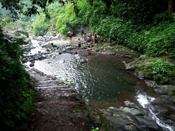 Kolam di dekat Curug Daun