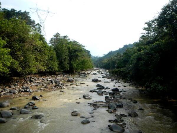 Sungai Cibeet - Penangkaran Rusa Cariu
